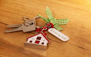 Porte-clé maison