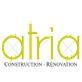 logo atria construction