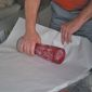 Déménageur emballage vase fragile