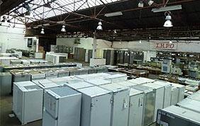 Hangar de stockage d'électroménagers IHPO