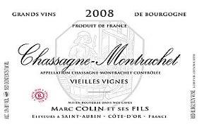 Chassagne Montrachet Vieilles Vignes 2008