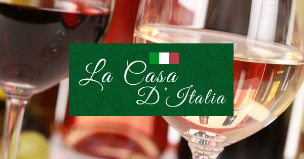 Logo La Casa d'Italia vins italiens