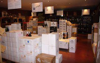 magasin de vin