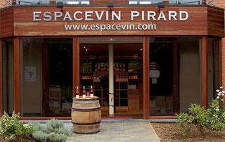 espace de vente de vin