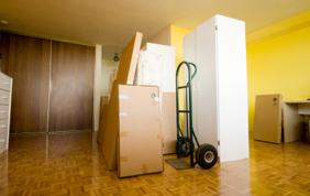 Ruimte om te verhuizen