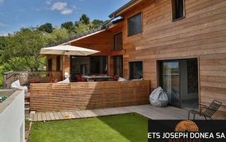 bardage et terrasse en bois