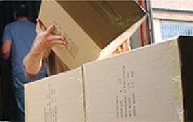 cartons encombrants