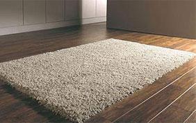tapis beige moelleux