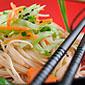 Nouilles thaïlandaises aux légumes