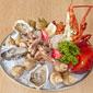 plateau de fruits de mer avec homard
