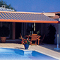 tente solaire piscine