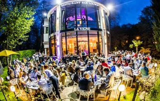 bar lounge et terrasse de la vigne